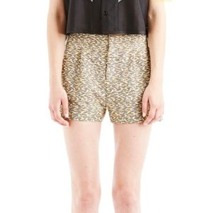 Surface to Air Sz 36 Ylw Black Shorts w Pockets